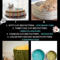 Free Crochet Cat Bed Patterns - Free Crochet Pattern Friday ODC