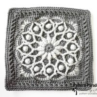 Casablanca 12 Inch Square Pattern