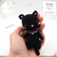 Amigurumi Black Cat by Tarturumies