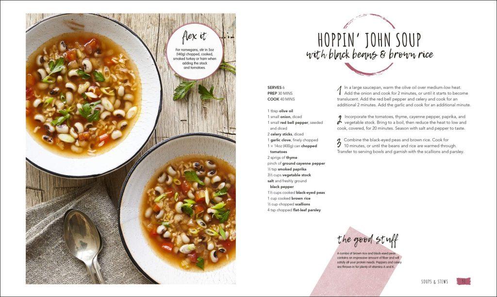 Hoppin John Soup. Vegan in the House. DK. Amazon Image