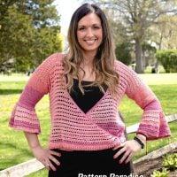Julia Cardi Sweater Pattern by Maria Bittner