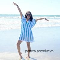 Beach Day Cover-Up Tunic by Maria Bittner