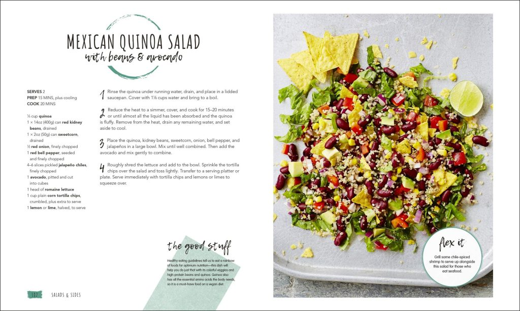 Mexican Quinoa Salad. Vegan in the House. DK. Amazon Image