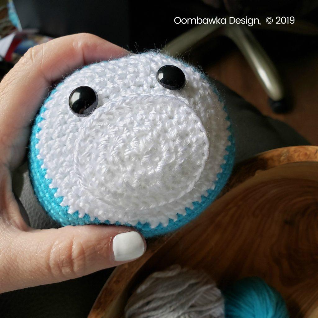 Muzzle Amigurumi Free Crochet Seal Pattern from oombawkadesigncrochet