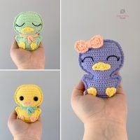 Pocket Duck by Spin a Yarn Crochet