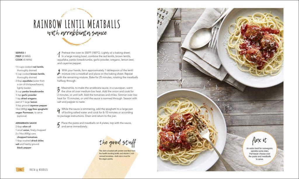 Rainbow Lentil Meatballs. Vegan in the House. DK. Amazon Image