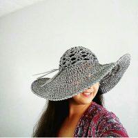 Salt Grass Beach Hat Pattern