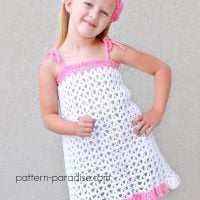 Summer Cheer Dress Pattern and Kerchief Set by Maria Bittner
