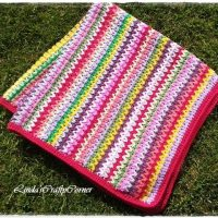 Sunshine Baby Blanket Featured at Wednesday Link Party