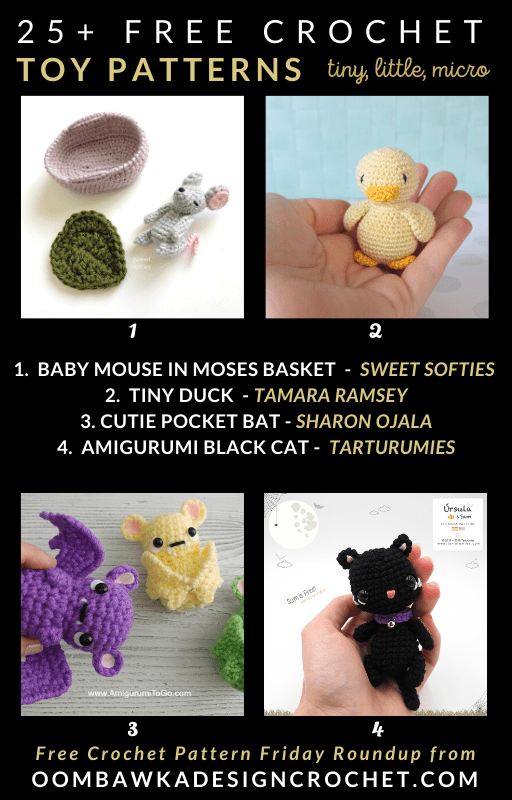 25+ Little Crochet Toy Free Patterns