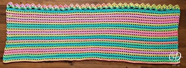 Tropical Breeze Wrap Free Pattern