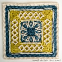 Esme's Winter Cottage Square Pattern