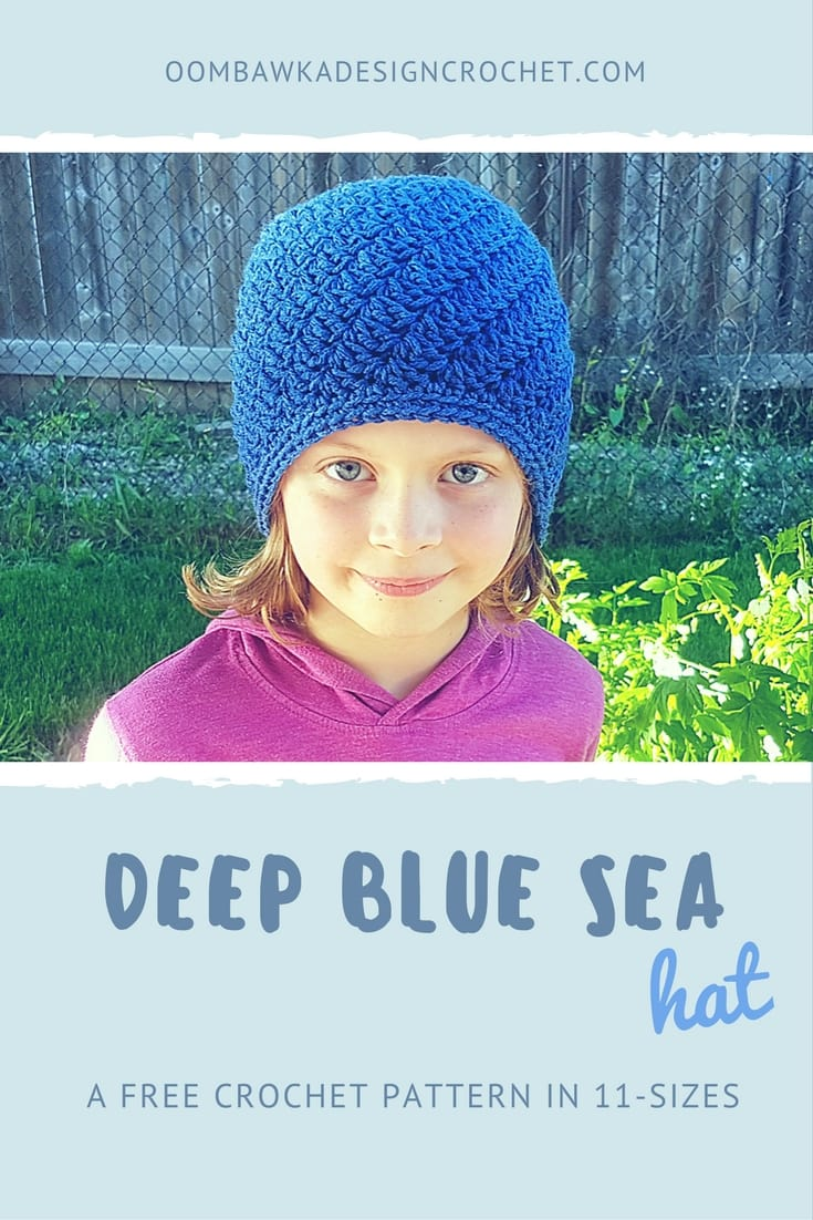 Deep Blue Sea A Free Crochet Pattern in 11 Sizes from Oombawka Design