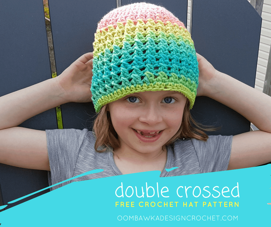 Double Crossed Hat Pattern by Oombawka Design FB