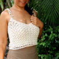 Jasmine Rice Crop Top Pattern