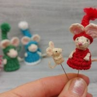 Pocket to Micro Mouse by Sharon Ojala