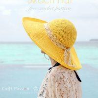 Raffia Beach Hat Pattern