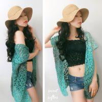 Beach Breeze Summer Cover-Up Kimono Top Pattern