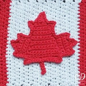 Canada Maple Leaf Free Crochet Pattern