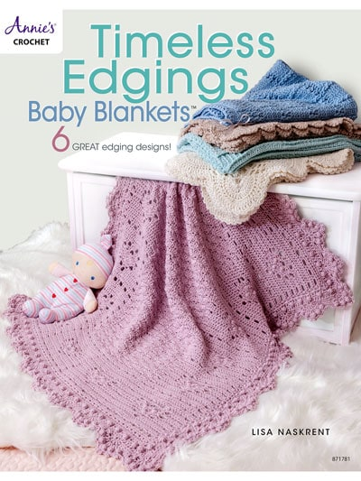 Cover Timeless Edgings Baby Blankets Annie's Craft Store Book Review