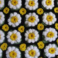 Crocheted Daisy Rug Pattern