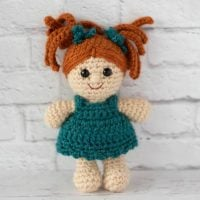 Crochet Doll Pattern featured at Wednesday Link Party 354