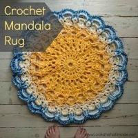 Crochet Mandala Rug Pattern