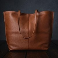 Furls Leather Crochet Project Bag