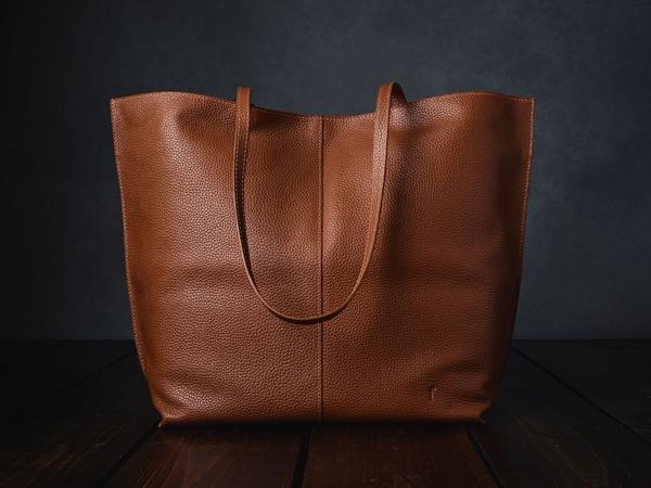 Furls Leather Crochet Project Bag
