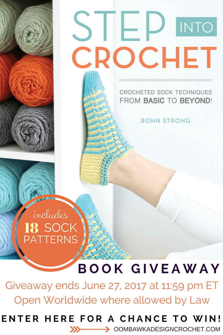 Step Into Crochet Book Review and Giveaway at Oombawka Design Ends June 27 2017