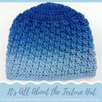 It's All About The Texture Hat – Free Pattern