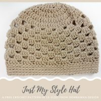 Just My Style Hat – Free Pattern