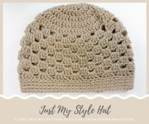 Just My Style Hat Pattern