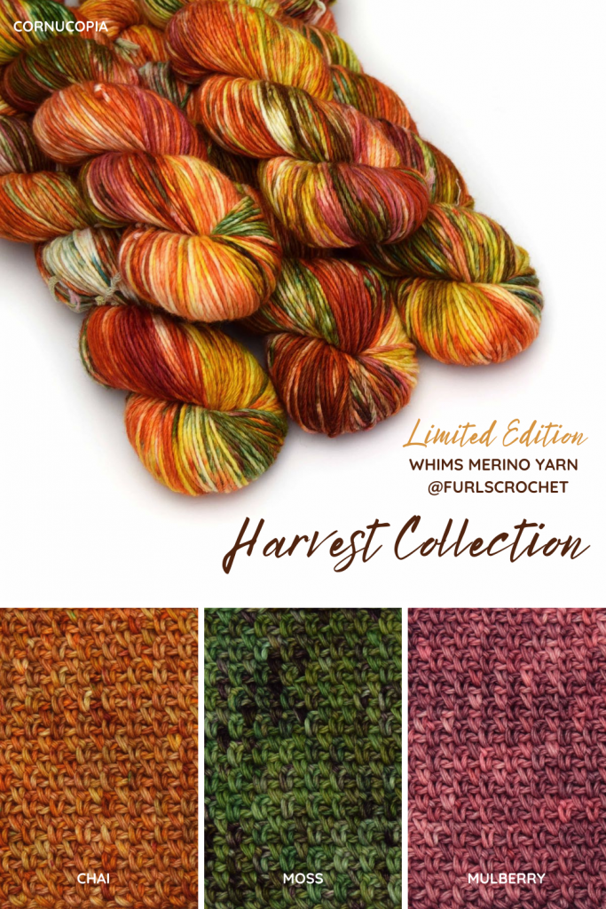 Limited Edition HARVEST COLLECTION from Furls Crochet
