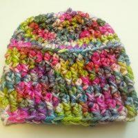 Raised Rib Baby Hat | Kylie Crochets
