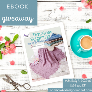 Timeless Edgings Baby Blankets Giveaway Ends July 4 2020 1159 pm ET