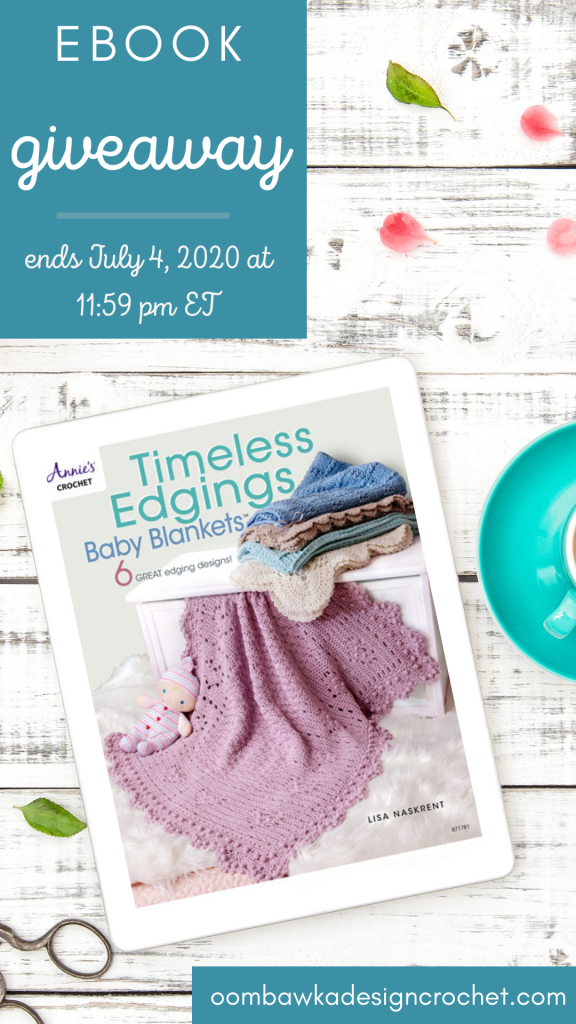 Timeless Edgings Baby Blankets Giveaway Ends July420201159pmET