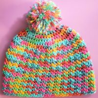 Tipsy Lemon Child Hat Pattern Free - Featured at Wednesday Link Party 353