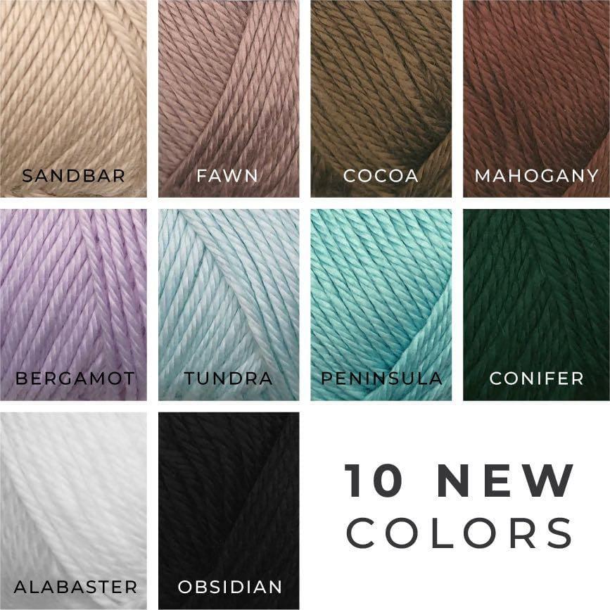 10 New Colors Wander Premium Acrylic Yarn