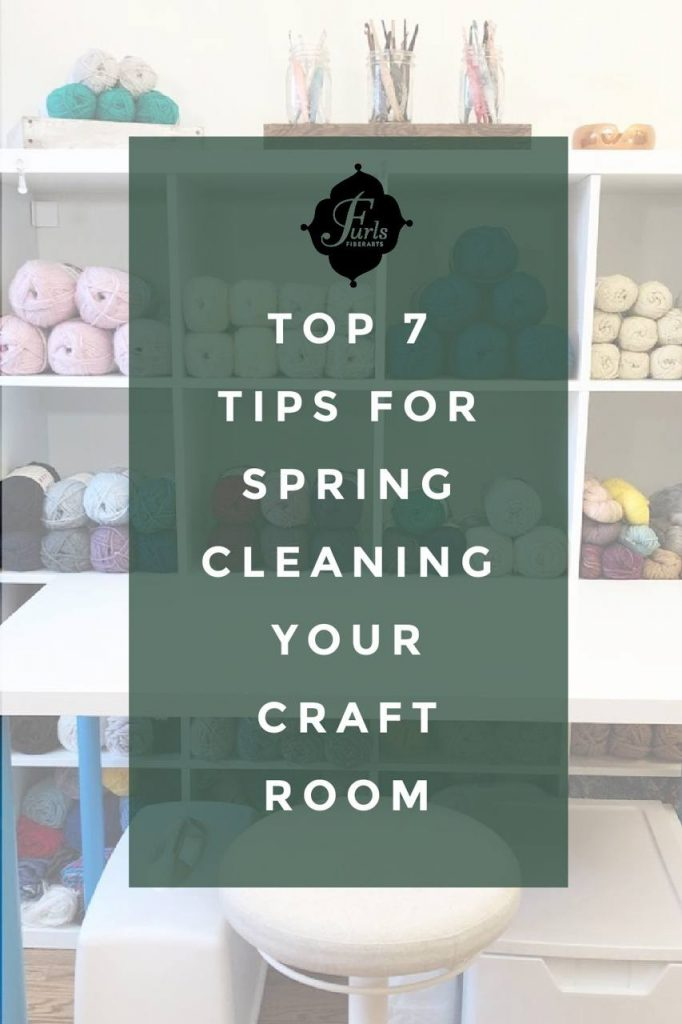 Top 7 Tips for Spring Cleaning your Craft Room