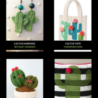10 Free Crochet Cactus Patterns Free Pattern Friday OombawkaDesignCrochet