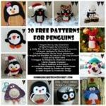 20 Free Crochet Patterns for Penguins
