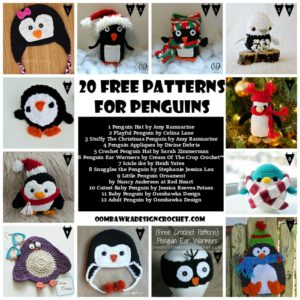 20 Free Crochet Patterns for Penguins