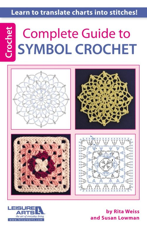 It's time to learn how to read diagrams so you can crochet patterns from all around the world! The Complete Guide to Symbol Crochet will help you master the basics with step-by-step comparisons for two patterns; between the crochet symbols used in the diagrams and the corresponding written words you are familiar with - round by round! An excellent resource for your library and perfect for beginners and intermediate crocheters alike! Read my full review here to find out what's inside!