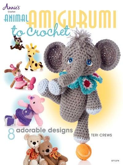Animal Amigurumi eBook by Teri Crews Annie's Craft Store - 8 Adorable Amigurumi Animals to Crochet