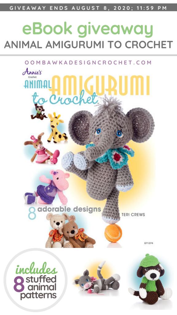 Animal Amigurumi by Teri Crews eBook from Annie's Craft Store Giveaway