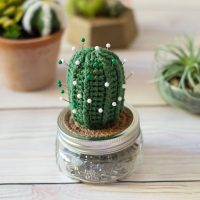 Cactus Pincushion Pattern Bethany Dearden Featured at Free Pattern Friday