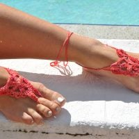 Crystalized Barefoot Sandals Pattern