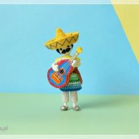 Featured at Wednesday Link Party 358 Mariachi Doll
