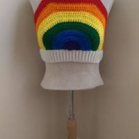 Rainbow Crop Top - Featured at FPF at ODC